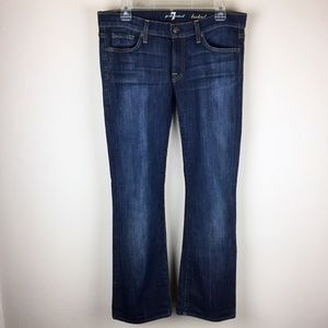 NWOT 7 For All Mankind Boot Cut Jeans